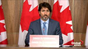 Coronavirus: Trudeau defends making Tory committee motion a confidence vote, risking election (01:24)