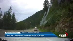B.C. driver shares story of incredible Sicamous dashcam video