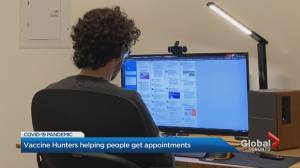 Volunteers band together online to help Canadians book COVID-19 vaccine appointments (02:21)