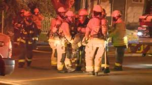 One person dead and Vancouver firefighter injured after multiple fires overnight (01:56)