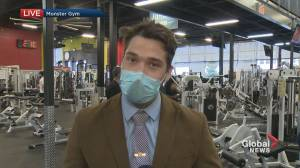 Montreal gyms forced to close (01:54)