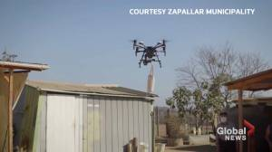 Coronavirus outbreak: Drone deliveries help elderly Chileans vulnerable to COVID-19