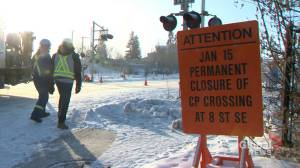 Iconic Calgary rail crossing closes for good