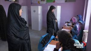 Afghan women vote to choose a new president