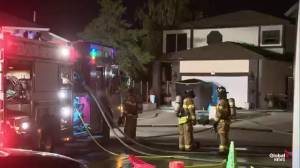 Person found dead after fire at north Edmonton home