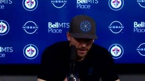 RAW: Winnipeg Jets Blake Wheeler Interview – Apr. 2 (03:23)