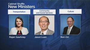 Alberta premier shuffles cabinet: Who's in and who's out (03:06)