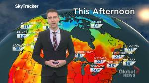 Saskatchewan weather outlook: May 25