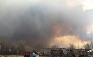 'English Fire' now as big as Saskatoon