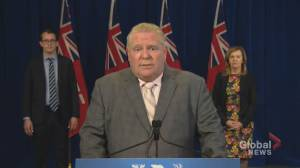 Coronavirus outbreak: Doug Ford says Ontario to 'accelerate construction' on critical projects like hospitals, testing centres