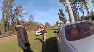Newly-surfaced video shows Georgia cop trying to tase Ahmaud Arbery during 2017 incident