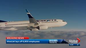 WestJet to cut workforce by nearly 6,900 people amid COVID-19 pandemic