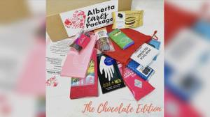 Made-in-Alberta chocolate gift boxes in support of heart health (05:04)