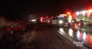 2 injured in crash on Hwy. 7 east of Peterborough (00:33)