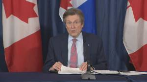 Coronavirus: Toronto mayor outlines 'largest vaccination effort' in city's history (04:01)