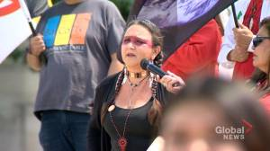 Hundreds rally for National Indigenous Day