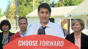 Federal Election 2019: Trudeau says economy created 1,000,000 new jobs under his administration