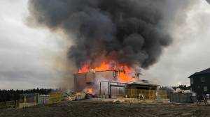 Houses go up in flames in southeast Calgary​