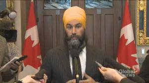 Singh says workers should be compensated amid ongoing rail blockades