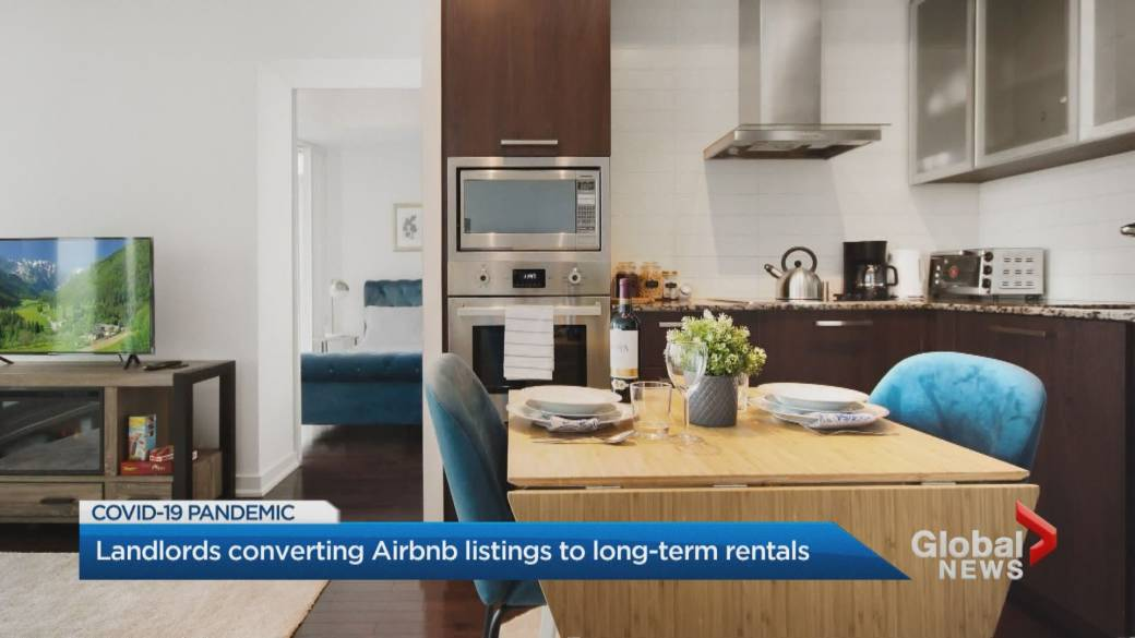 Covid 19 Could Mean Fewer Short Term Rentals And More Housing Stock Experts Say Toronto Globalnews Ca