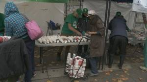 Less than half the amount of deposits were collected at Vancouver's annual Coffee Cup Revolution (01:30)
