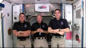 Astronaut Doug Hurley describes experience aboard SpaceX Dragon, says toilet aboard 'worked very well'
