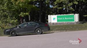 Mark S. Burnham Park near Peterborough closed after body found.