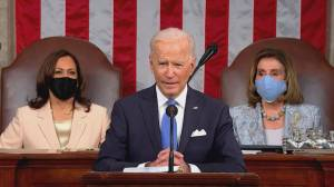 U.S. President Biden's speech to congress (05:32)