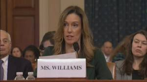 Trump impeachment hearings: Jennifer Williams opening statement