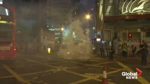 Hong Kong protesters attack man said to be 'pro-Beijing'