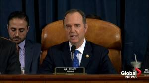 Trump impeachment hearings: Adam Schiff opening statement