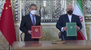 Iran, China sign 25-year cooperation agreement (00:46)