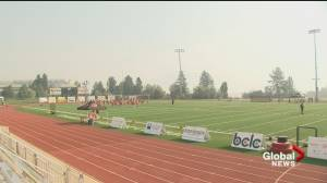 BC Lions forced to cancel practice due to wildfire smoke (00:43)