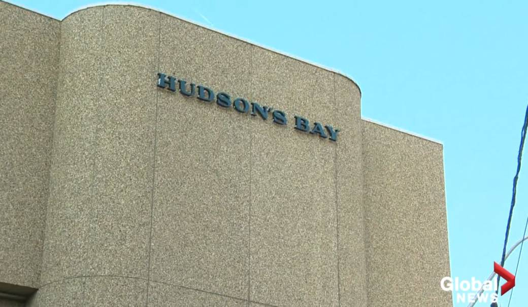 Click to play video 'Hudson's Bay in Edmonton City Centre Mall to close'