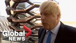 U.K. PM Boris Johnson reacts to Supreme Court ruling against him
