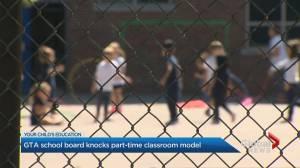 Toronto-area school board urges Ontario to drop 'hybrid' school model