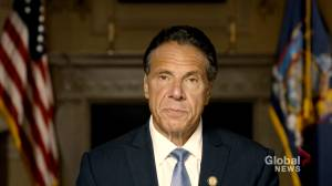 NY Gov. Cuomo denies sexual misconduct findings in AG probe (01:29)