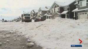 Why Edmonton cul-de-sacs aren't cleared of snow during residential blading