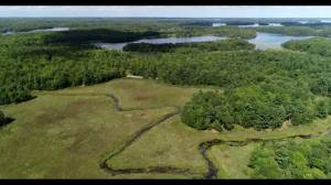 See what area in the Frontenac Arch Natural Area is now protected by the NCC