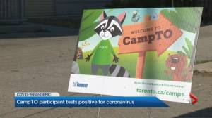 Coronavirus: 2 City of Toronto camps suspended after positive test (01:02)
