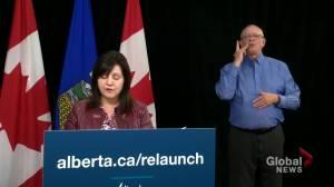 Alberta education minister outline plans for students returning to school in September