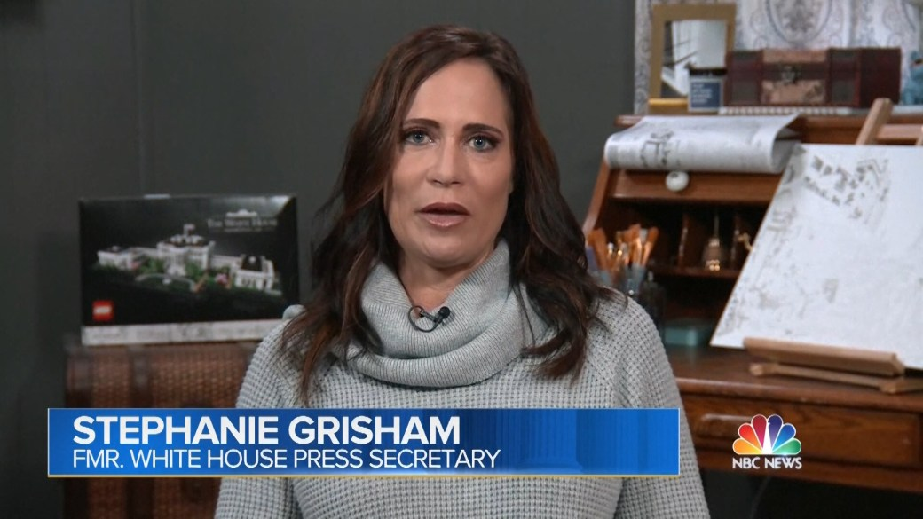 Click to play video: 'Former White House press secretary believes Trump will run with 'no guardrails' in 2024'