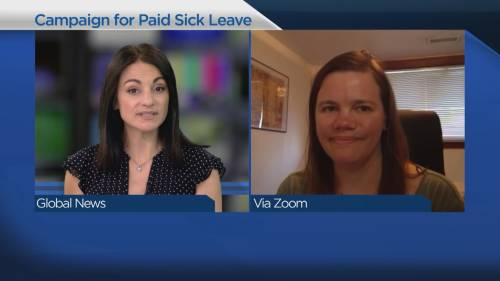 The campaign for paid sick days | Watch News Videos Online
