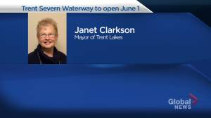 Parks Canada announces the Trent Severn Waterway will open June 1