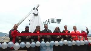 Salmon Arm unveils new landmark