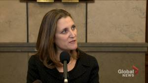 CUSMA ratification a 'national priority for Canada': Freeland
