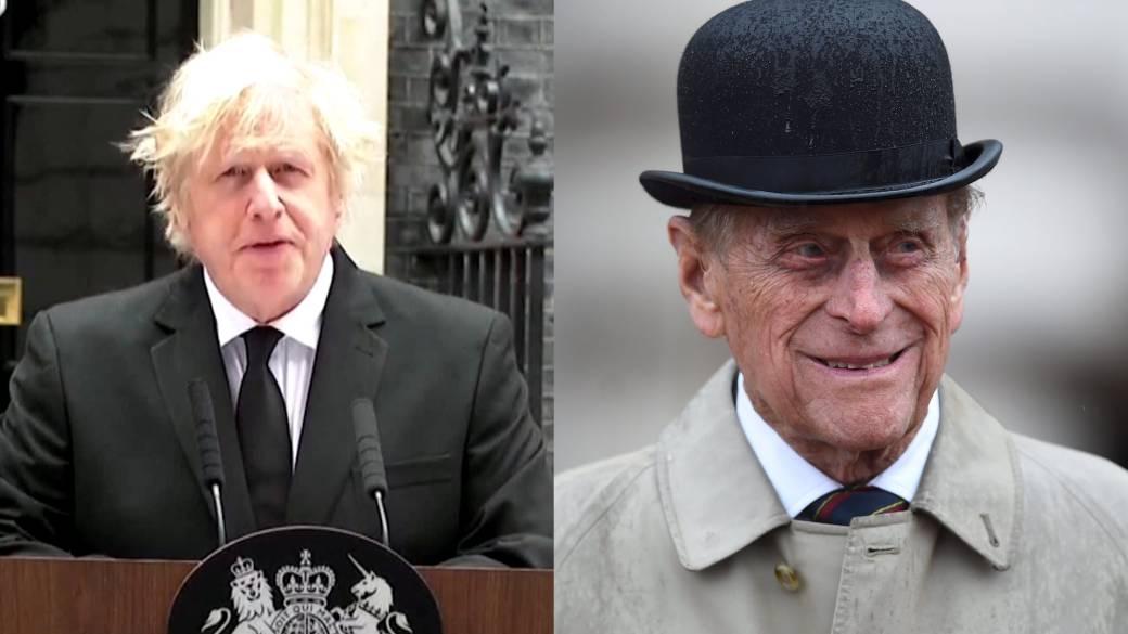 Click to play video: 'U.K. PM Boris Johnson pays tribute to Prince Philip'