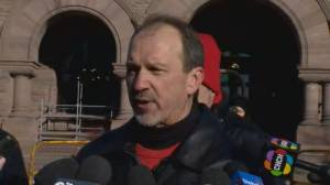 OSSTF president says Ontario protest a 'demonstration of unity'
