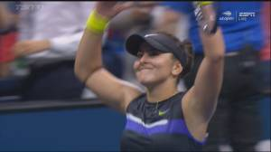 Bianca Andreescu advances to U.S. Open finals