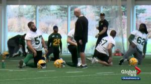 Edmonton Eskimos head to Montreal for CFL playoff game
